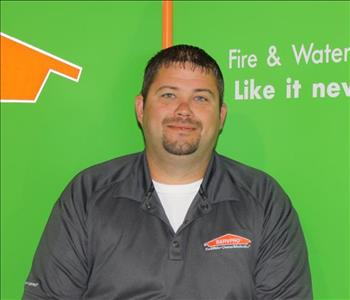 Drew Call, Operations Manager at SERVPRO of Jefferson City