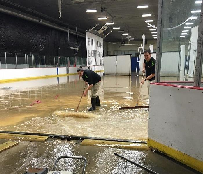 Washington Ice Arena water cleanup
