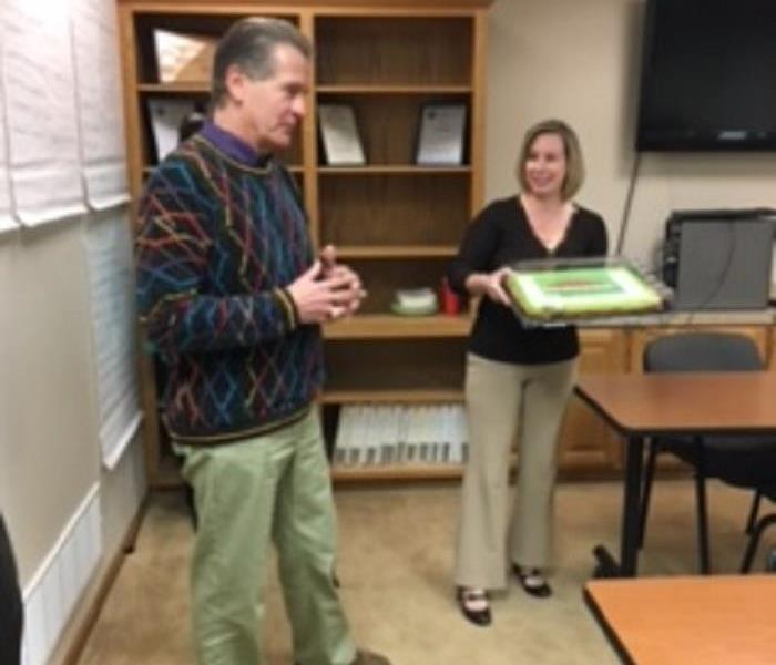 David's One Year Anniversary owning SERVPRO of Jefferson City